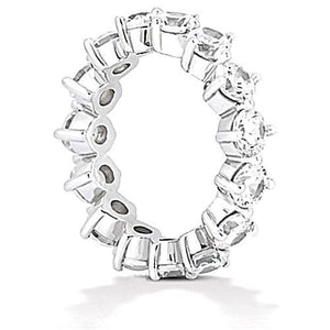 3.75 Ct. Diamonds Eternity Engagement Band Women Jewelry Eternity Band