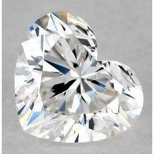 4 Carats Heart Diamond Loose D Vvs1 Very Good Cut Diamond