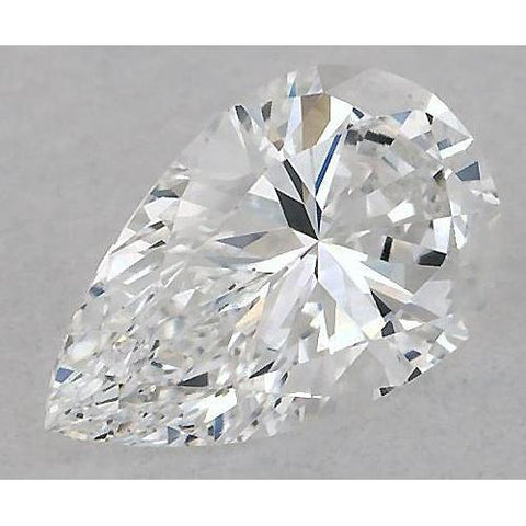 4 Carats Pear Diamond Loose E Vs1 Very Good Cut Diamond