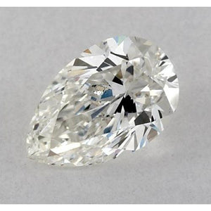 4 Carats Pear Diamond Loose G Vs2 Very Good Cut Diamond