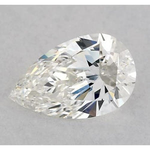4 Carats Pear Diamond Loose H Vvs1 Very Good Cut Diamond