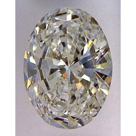 4 Ct. F Vs1 Oval Cut Loose Diamond Natural New Diamond