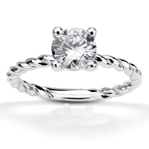 4 Prong Set 2.25 Ct Round Brilliant Cut Diamond Wedding Solitaire Ring Solitaire Ring