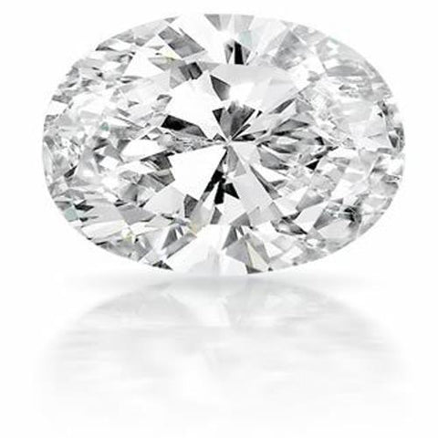4.00 Carat Big Oval Cut G Si1 Sparkling Loose Diamond New Diamond