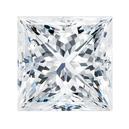 4.01 Carat Big Sparkling G Si1 Princess Cut Loose Diamond Diamond
