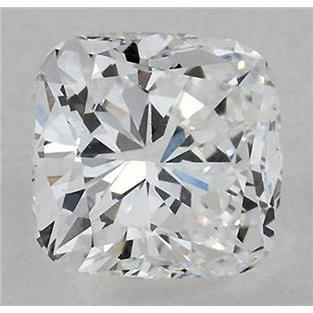 4.01 Carats Cushion Cut Loose Diamond D Si1 Diamond
