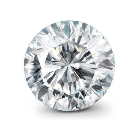 4.01 Carats Natural G Si Round Loose Diamond Diamond