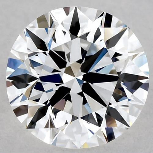 4.25 Carats Round Diamond F Si1 Very Good Cut Loose Diamond
