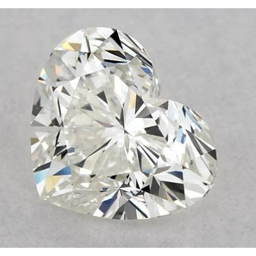 4.5 Carats Heart Diamond Loose K Vs2 Very Good Cut Diamond