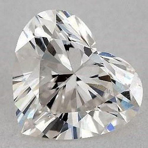 4.75 Carats Heart Diamond Loose E Vvs1 Very Good Cut Diamond