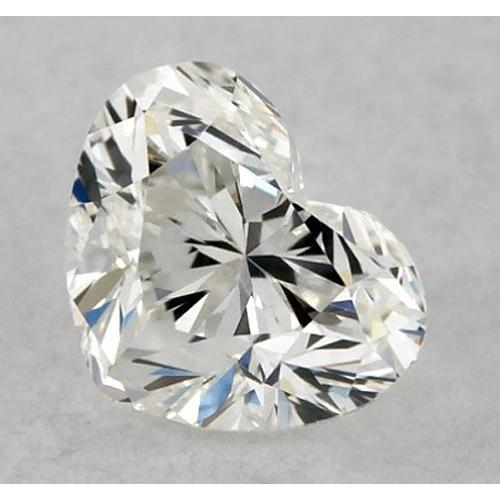 4.75 Carats Heart Diamond Loose K Vs1 Very Good Cut Diamond