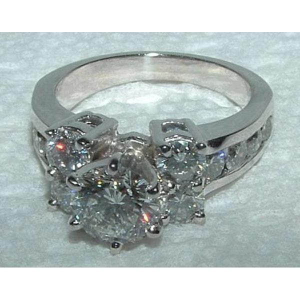 4.76 Carats Diamond Engagement Ring And Band Set Engagement Ring Set