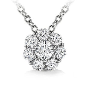 4.80 Ct Round Brilliant Prong Setting Diamond Pendant Solid Gold 14K Pendant