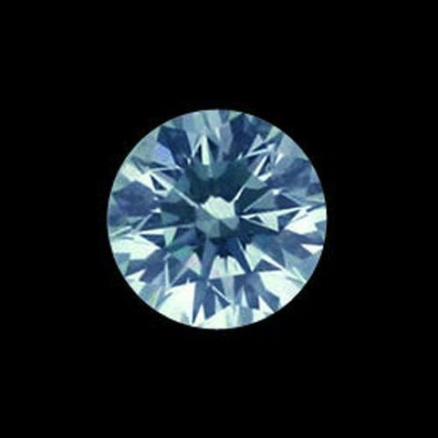 5 Carats Best Value Blue Diamond Round Loose Diamond Diamond