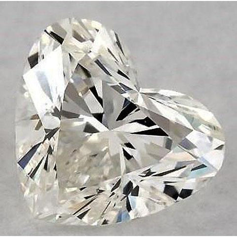 5 Carats Heart Diamond Loose F Vvs2 Very Good Cut Diamond