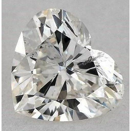 5 Carats Heart Diamond Loose K Vs2 Very Good Cut Diamond