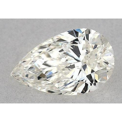 5 Carats Pear Diamond Loose F Vs1 Very Good Cut Diamond