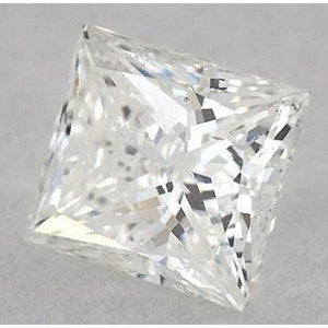 5 Carats Princess Diamond Loose G Si1 Very Good Cut Diamond