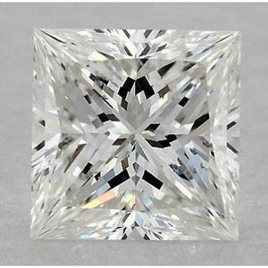 5 Carats Princess Diamond Loose H Si1 Very Good Cut Diamond