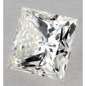 5 Carats Princess Diamond Loose I Si1 Very Good Cut Diamond