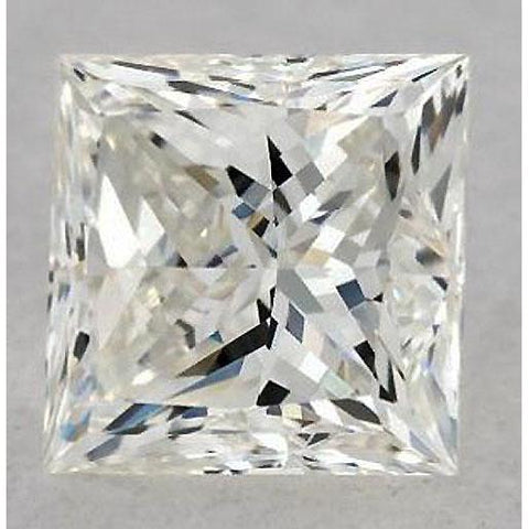 5 Carats Princess Diamond Loose J Si1 Very Good Cut Diamond