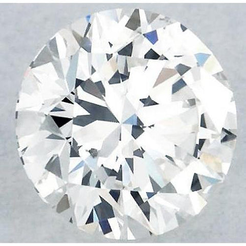 5 Carats Round Diamond H Vvs2 Excellent Cut Loose Diamond