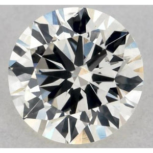 5 Carats Round Diamond K Si1 Very Good Cut Loose Diamond
