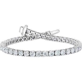 5 Ct Ladies Round Cut Diamond Tennis Bracelet White Gold Jewelry Tennis Bracelet
