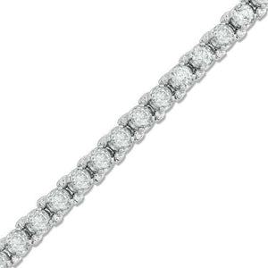 5 Ct Round Brilliant Cut Diamond Lady Tennis Bracelet Gold Jewelry Tennis Bracelet