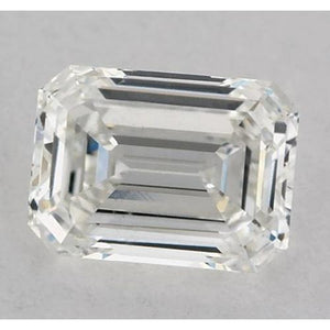 5.5 Carats Emerald Diamond Loose G Fl Very Good Cut Diamond