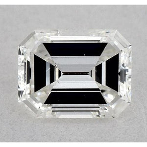 5.5 Carats Emerald Diamond Loose H Vs1 Very Good Cut Diamond