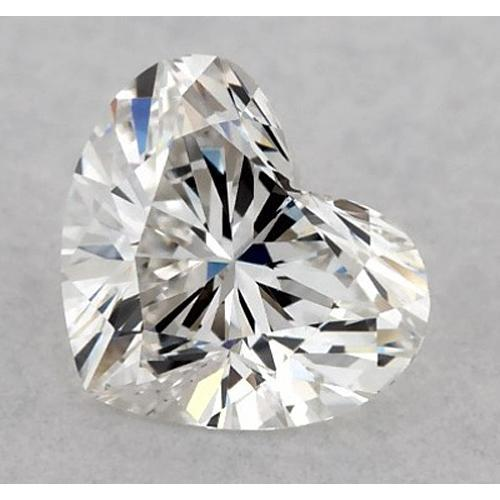 5.5 Carats Heart Diamond Loose D Vvs2 Very Good Cut Diamond