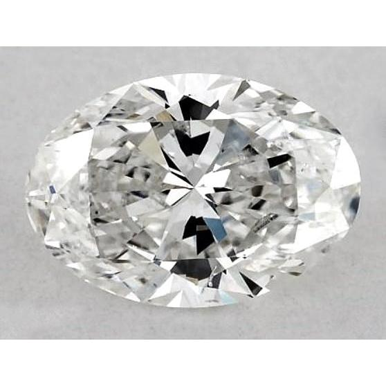 5.5 Carats Oval Diamond Loose I Si1 Good Cut Diamond