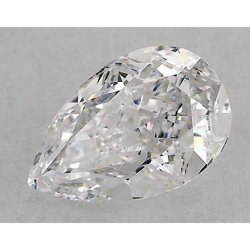 5.5 Carats Pear Diamond Loose H Si1 Good Cut Diamond