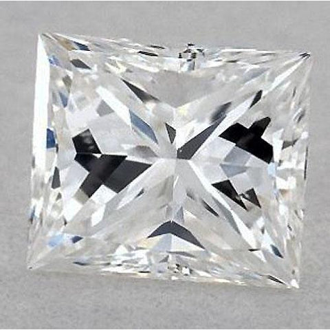 5.5 Carats Princess Diamond Loose H Si1 Very Good Cut Diamond