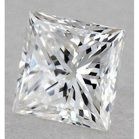 5.5 Carats Princess Diamond Loose J Si1 Very Good Cut Diamond