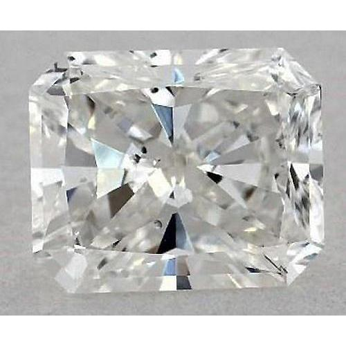 5.5 Carats Radiant Diamond Loose I Si1 Good Cut Diamond