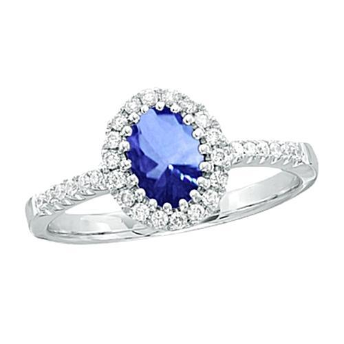 5.60 Ct Sri Lanka Sapphire Ring Solitaire Gemstone Ring