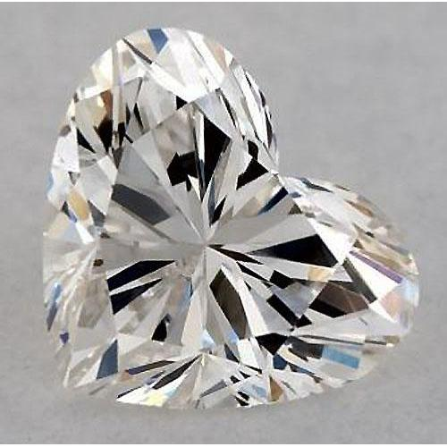 6 Carats Heart Diamond Loose F Vs2 Very Good Cut Diamond