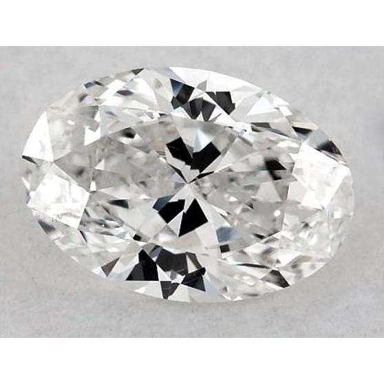6 Carats Oval Diamond Loose F Vs2 Very Good Cut Diamond