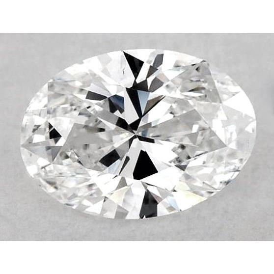 6 Carats Oval Diamond Loose I Vs1 Very Good Cut Diamond