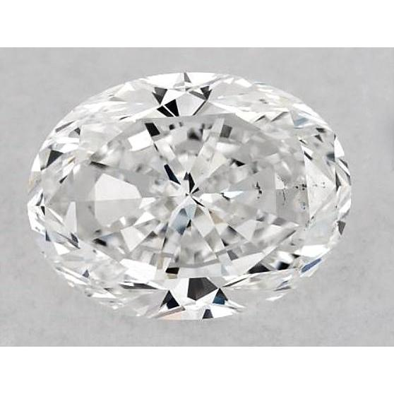 6 Carats Oval Diamond Loose I Vs2 Very Good Cut Diamond