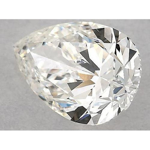 6 Carats Pear Diamond Loose E Vs1 Very Good Cut Diamond