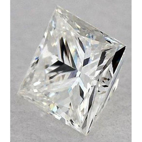 6 Carats Princess Diamond Loose E Vvs2 Excellent Cut Diamond