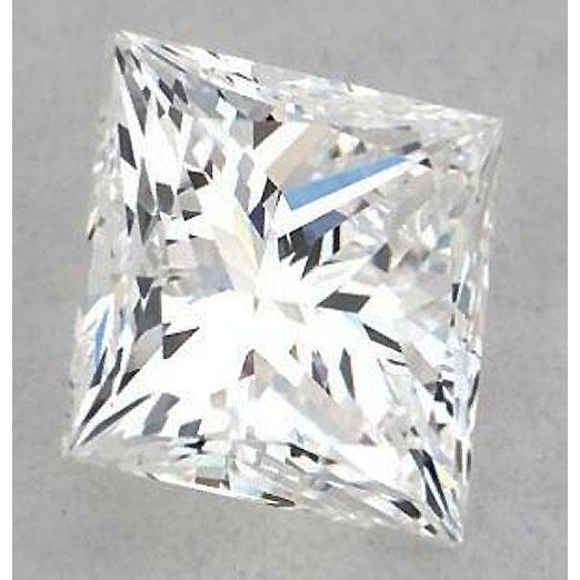 6 Carats Princess Diamond Loose G Si1 Very Good Cut Diamond