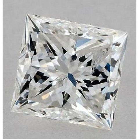 6 Carats Princess Diamond Loose H Vvs2 Excellent Cut Diamond