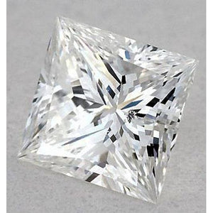 6 Carats Princess Diamond Loose I Si1 Very Good Cut Diamond