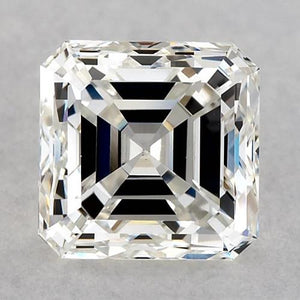 6.5 Carats Asscher Diamond Loose K Vvs2 Very Good Cut Diamond