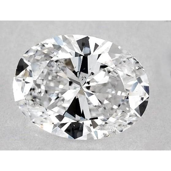 6.5 Carats Oval Diamond Loose G Si1 Good Cut Diamond