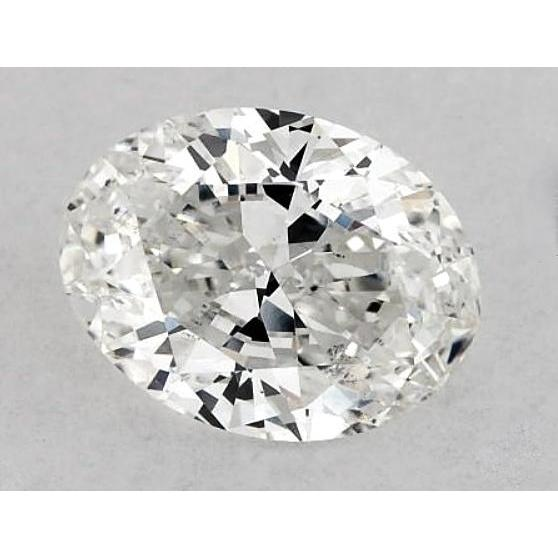 6.5 Carats Oval Diamond Loose K Si1 Good Cut Diamond